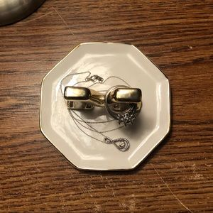 "Adrienne Vittadini Storage & Organization - Adrienne Vittadini Jewelry Tray with ""M"""